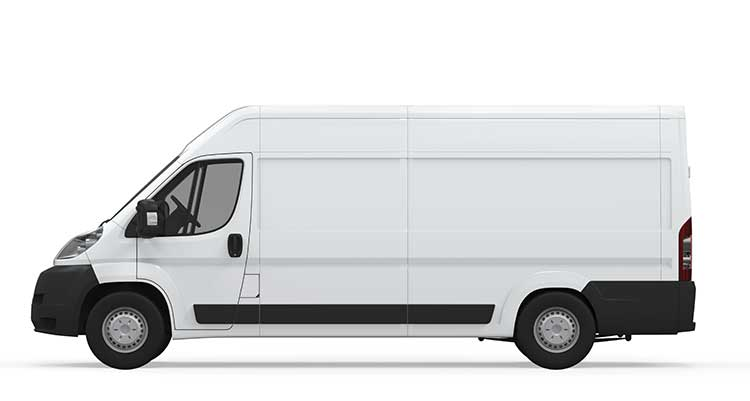 Long Wheelbase van removal service