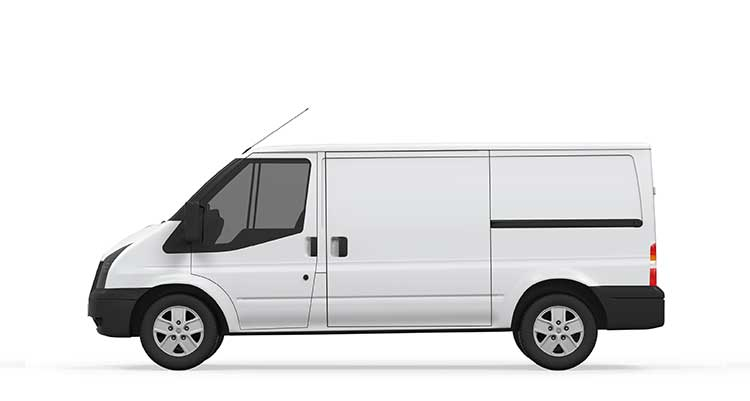 Short Wheel Base Van